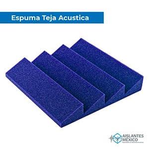 Espuma teja azul