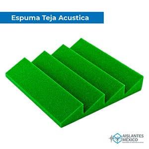 Espuma teja verde