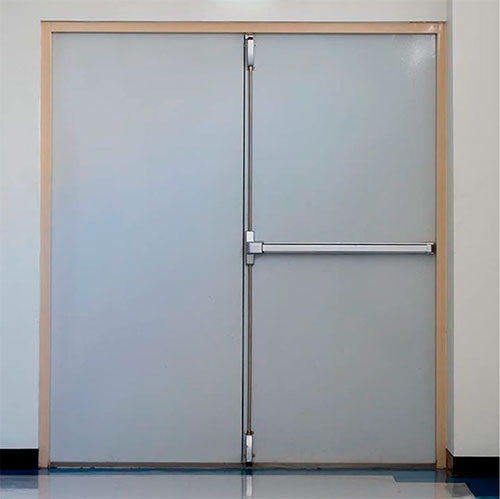 Puertas acusticas industriales